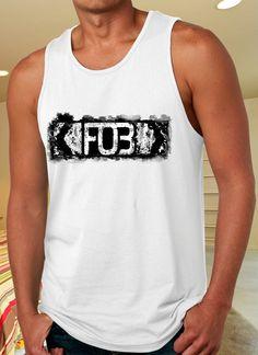 FOB logo Tank Top for Man on http://www.luulla.com/store/distro4u