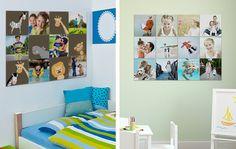 Värikäs vai hillitty lastenhuone? Tee oma kuvamosaiikki ifolorilla! Yhdistä omia kuvia ja valmiita kuvio- ja väripaloja. http://www.ifolor.fi/inspire_kuvamosaiikki_eri_huoneisiin