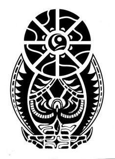 a-tribal-tattoo-design-with-polynesian-symbols.jpg (362×500)