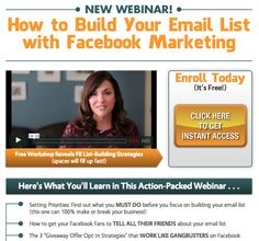 Social Media Marketing Podcast 29: In this episode Amy Porterfield shares the tactics you need to grow your email list when using social media.