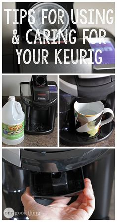 Keep your Keurig running well and looking great with these simple tips!