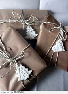 """Brown paper packages tied up in string..."""