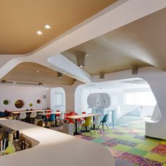 Whimsical Kid Friendly Cafe Design – Commercial Interior Design News | Mindful Design Consulting - Restaurant Design For Kids