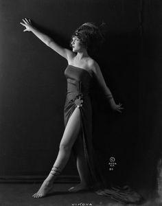 Vikova photographed by Alta Studio (1920s)