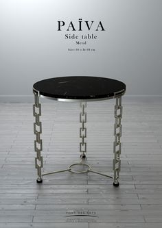 Halley center table pont des arts designer monzer for Design couchtisch pont