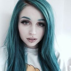 Green Wigs Lace Frontal 91 Wig Store Bonded Hair Extensions Near Me Cheap Curly Wigs Buy Hair Weave In Bulk Hair Extensions Near Me, Piercings, Punk, Weave Hairstyles, Cool Hairstyles, Alternative Makeup, Green Wig, Coloured Hair, Dyed Hair