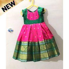 Baby Girl Dress Design, Girls Frock Design, Kids Frocks Design, Baby Frocks Designs, Indian Dresses For Kids, Stylish Dresses For Girls, Dresses Kids Girl, Cutwork Blouse Designs, Kids Blouse Designs
