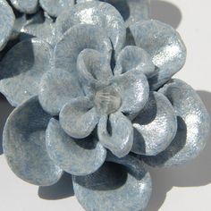 SALE Handmade Light Blue Fimo Flowers by JadedHopeChest on Etsy, $4.50