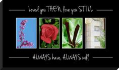 Letter art photography quote plaque by  Spell-It-Out Photos.    Quote plaques have various style and layouts.
