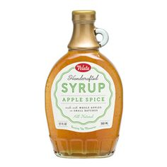 Velata Handcrafted Apple Spice Syrup is made with whole apples in small batches. This all natural syrup is great for breakfast and dessert.Suggested UseTry on crepes, French toast, English muffins and vanilla ice cream, or as a glaze for meat, fish or vegetables.