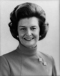 """Elizabeth """"Betty"""" Ann Warren Bloomer Ford, 1974–1977"""