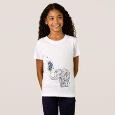 Elegent Elephant T-Shirt - elegant gifts gift ideas custom presents