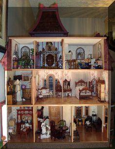 Beacon Hill Dollhouse Interior Página 1