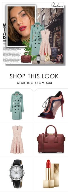 """""""Burberry"""" by smile-2528 ❤ liked on Polyvore featuring Burberry"""