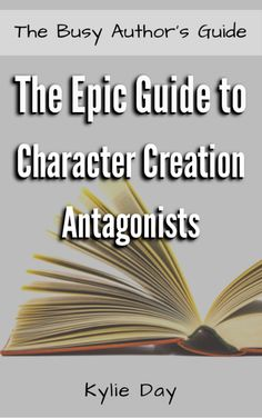 The Epic Guide to Character Creation: Antagonists is a short ebook packed with information on how to create extraordinary antagonists. The book goes through how to categorize your characters as well as shed light on the most common archetypes, which you can use as a solid foundation to build your antagonists upon. (Affiliate link)