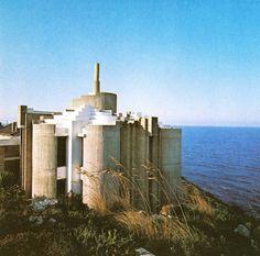 aqqindex: Paolo Portoghesi, Casa Bevilacqua a Gaeta, 1964-1972