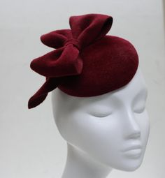 Bloody Mary Red Arty Bow Headband Red by AndTheyLovedHats
