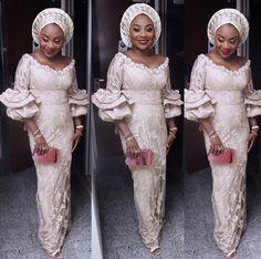 Best Nigerian Lace Styles for Wedding That Make SenseLatest Ankara Styles and Aso Ebi Styles 2020 Nigerian Lace Styles, African Lace Styles, African Lace Dresses, Latest African Fashion Dresses, African Print Fashion, Ankara Styles, Ankara Fashion, African Prints, Nigerian Fashion