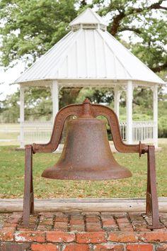 Robbins Preserve (Robbins Lodge Park), Davie, Florida. Gazebo and bell ~ Timeless Elegance by Desiree photography