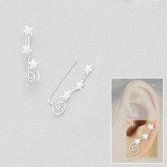 Stjerne; moderne øreringe Super søde øreringe, har bestilt til min datter