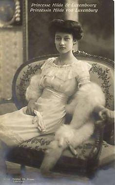 Grande-duchesse Hilda de Luxembourg (1897-1979)