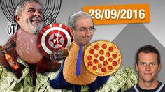 Lula Herói, Repatriação de Bens, Cunha na Justiça e Tom Brady Peladão #O...