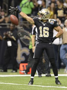 New Orleans Saints WR Lance Moore #Saints #NOLA #WhoDat