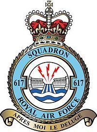617 Squadron is a Royal Air Force aircraft squadron based at RAF… Lancaster Bomber, Air Force Aircraft, Military Insignia, Royal Air Force, Crests, Coat Of Arms, Military History, Military Aircraft, World War Two