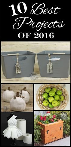 The 10 Best Posts from The Kim Six Fix.. DIY, home dec, crafts, recipes and more!