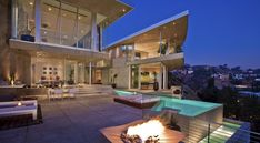Swedish DJ Avicii Spent $15.5 Million On This Bonkers Mansion In The Hollywood Hills - Here's one last look at the whole house.
