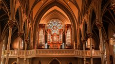 St John the Baptist Cathedral in Savannah, GA  #travel #Georgia #architecture #music #PipeOrgan