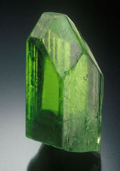 Peridot is a known healing crystal that sends it�s energies to the Heart Chakra, bringing positive energy and encouraging mental, emotional, and spiritual growth. Crystal healers love Peridot for it�s ability to awaken one to the idea of Universal Love by