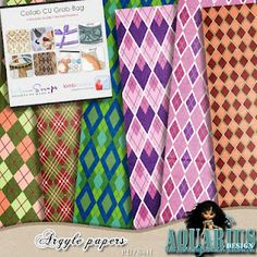 Another freebie, designer inspiration and stacked papers | Aquarius Scrapability