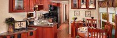 Lakeside Series Chestnut Exterior - Kitchen
