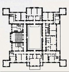 Ferrieres.  -  the chamber floor (2nd floor).