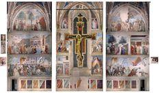 Legend of the True Cross - Piero della Francesca.  c.1455.  Fresco cycle, Church of San Francesco, Arezzo, Italy.