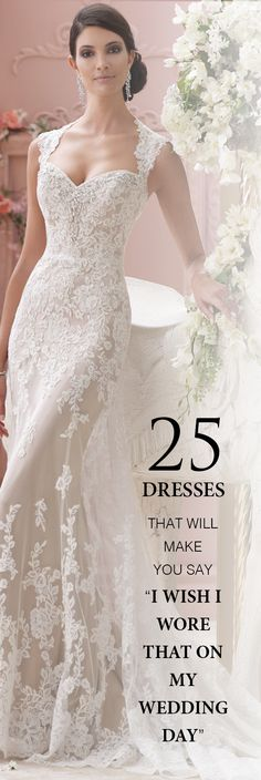 "25 Dresses That Will Make You Say ""I Wish I Wore That On My Wedding Day!"""