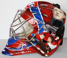jonnie Goalie Mask, Hockey Goalie, Nhl, Football Helmets, Masks, Montreal, Face Masks