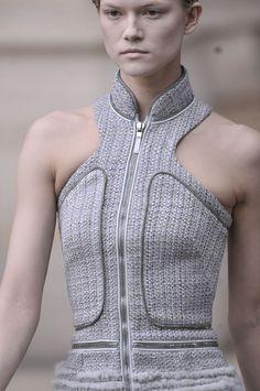 Alexander McQueen at Paris Fashion  Week Fall 2011 (Details)