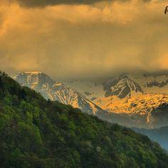 Ko narava poskrbi za čudovito atmosfero, brez kakršnih koli foto filtrov… Fotografija: @densk386 www.ocistimogore.si #ocistimogore