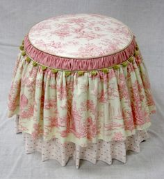 french vanity stool - Google Search