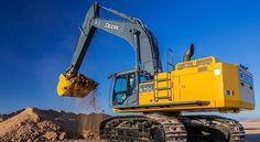 John Deere's 670G LC excavator