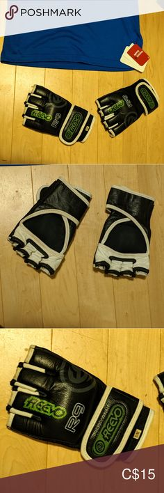 REEVO Kickboxing Gloves Black and White REEVO kickboxing gloves, size small. Reevo Other Kickboxing Gloves, Plus Fashion, Fashion Tips, Fashion Trends, Man Shop, Black And White, My Favorite Things, Vintage, Things To Sell