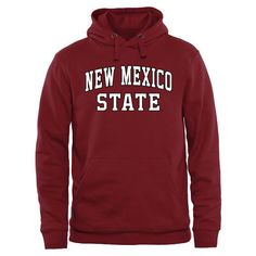 New Mexico State Aggies Maroon Everyday Pullover Hoodie