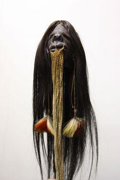 Creepy, Shrunken Head, Head Hunter, Witch Doctor, Animal Bones, Human Skull, Skull And Bones, Black White Photos, Skull Art