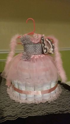 Hey, I found this really awesome Etsy listing at https://www.etsy.com/listing/228406091/ballerina-diaper-cake