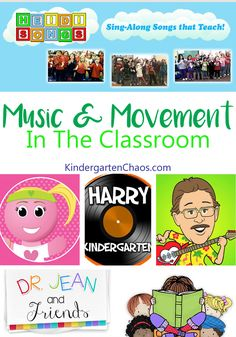 Fun Ideas For Incorporating Music and Movement In The Classroom