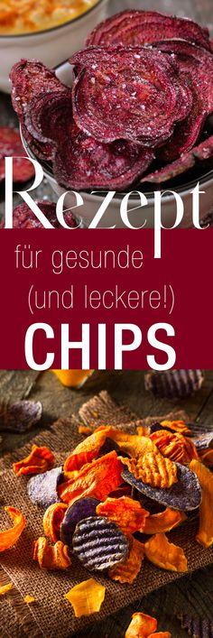 Lecker: Das beste Rezept für gesunde Gemüse-Chips zum selber machen!
