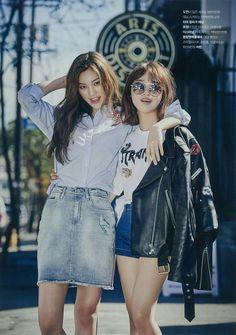 WEKI MEKI - Choi YooJung 최유정 & Kim DoYeon 김도연 from 'Dodaeng's diary in LA' [Dodaeng couple 도댕 커플]