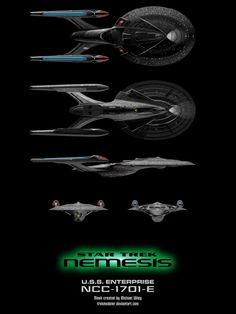 Nemesis Enterprise-E Schematic by trekmodeler on DeviantArt